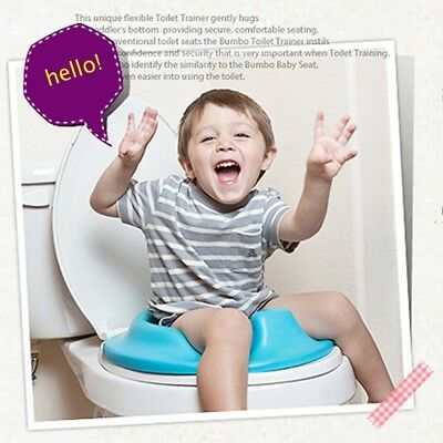 Kids Toddler Toilet Seat Cushion Plastic Baby Bathroom Potty Training Seat Cover