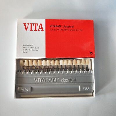 Dental Equipment Teeth Whiting Porcelain Vita Pan Classical 16 Color