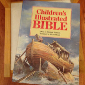 Children illustrated Bible (hard cover) excellent condition