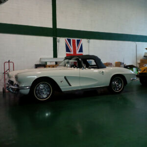 1962 Corvette Convertible 327 CID 300 HP 4 speed Two Tops