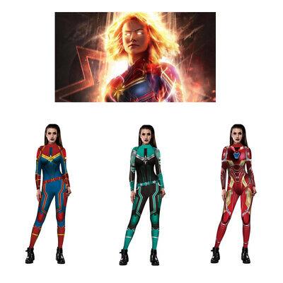Captain Marvel Costume Ms Marvel Carol Danvers Cosplay Avengers 4 Endgame - Ms Marvel Costume