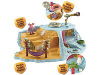 CLANGER CLANGERS PLANET PLAYSET AND 6 CHARACTERS