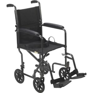 New&Used Transport WheelChair or Portable Wheel Chair -17 or 19""