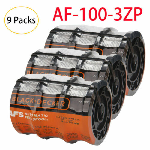 "Black&Decker AF-100-3ZP 0.065"" Replacement Spool Line String"