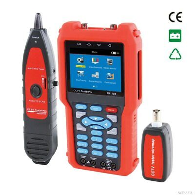 Noyafa Nf-707 Cctv Tester Cctv Video Tester With Ptz Rs485 Controlling