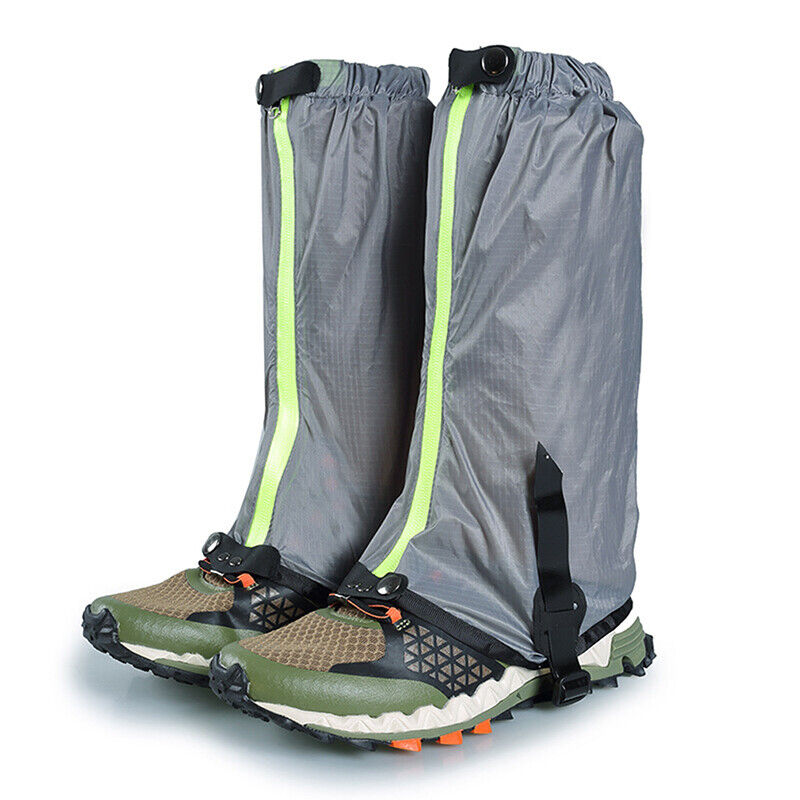 Men/'s Outdoor Waterproof Hiking Hunting Snow Chaps Snake Boots Gaiters 6L