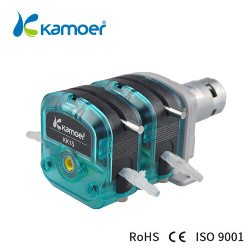 Kamoer KK15-S18 24v DC Motor Double Head Peristaltic Water Pump