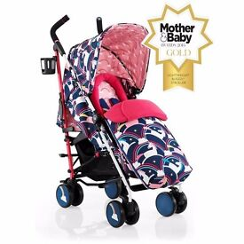 Cosatto supa stroller magic unicorns BRAND NEW