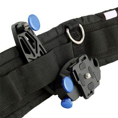 Camera Quick Release Holster Waist Belt Buckle Mount Clip For Canon Nikon DSLR
