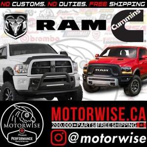 Ram Performance Parts | 1500 | 2500 | 3500 | Cummins | Hemi | Shop & Order Online at www.motorwise.ca | Free Shipping