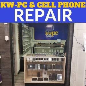 Cracked screen? Water Damage? UNLOCK? Want to buy a PHONE or CASE? @ (KW-PC CELL PHONE--309 Lancaster st west Kitchener)