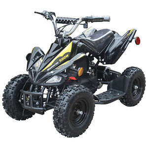 mini moto depot quad atv vtt electrique 36volts $579.99! red
