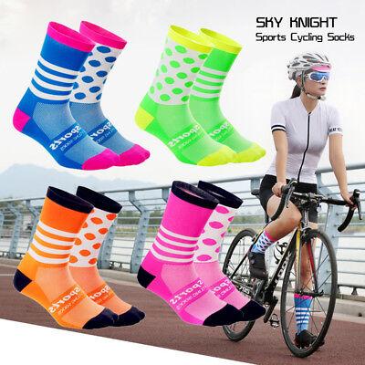 Männer Frauen Sport Socken Fahrrad Radfahren Reiten Laufen Outdoor SockenHosiery