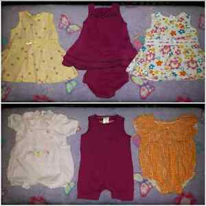 Girls Newborn to 3 Months Summer Clothing Lot  Cambridge Kitchener Area image 2