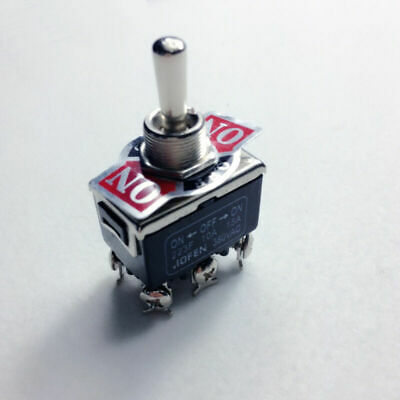 6-pin 380v Dpdt Switch 1piece 15a Toggle Momentary On-off-on