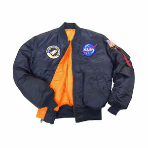Alpha Industries NASA Jacket Large (100th Anniversary Bomber)