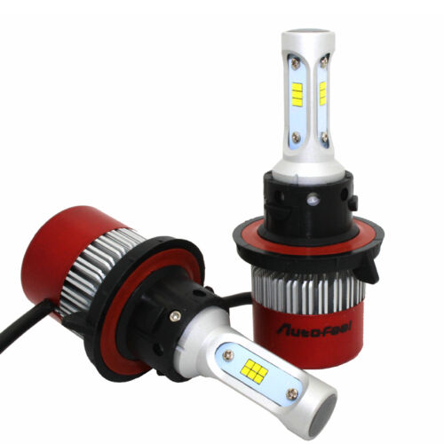 2x 288W 34560LM CREE LED HEADLIGHT Kit H13 9008 Hi/Low BEAM White 6500K Offroad