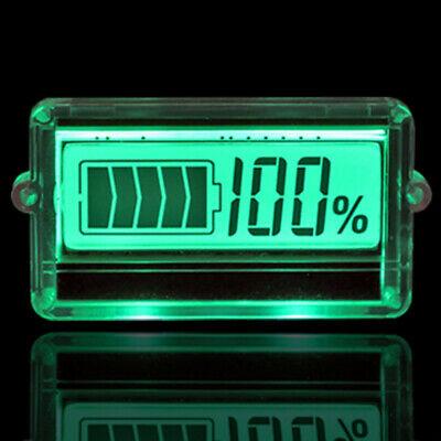 12V Backlaight Lead Indicator LCD Pb-Acid Lithium Battery Capacity Tester