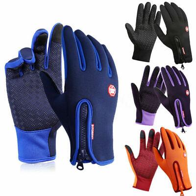 Warme Winter-handschuhe (Winter Handschuhe Warm Thermo Windproof Wasserdicht Finger Touch Screen Gloves)