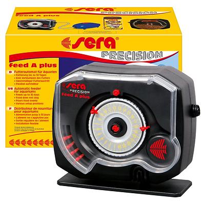 sera feed A plus Futterautomat - Fischfutterautomat z.B. für Ferien, Wochenende