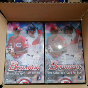 2018 Bowman Baseball Sports Cards Hobby Box Ohtani RC Autograph