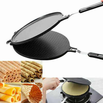 Egg Roll Waffles Cone Baking Pan Crispy Omelet Machine Bakeware Maker Cooking for sale  Shipping to Ireland