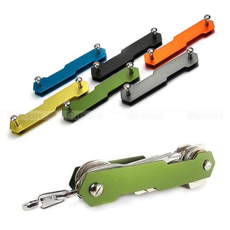 Durable Key Holder Organizer Clip Folder Keychain Pocket Tool