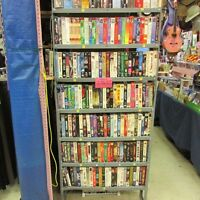 VHS    50 Cents   or 3 for $1.00