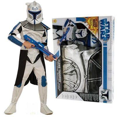 RUB 341086 Blue Clonetrooper Box Set Lizenz Star Wars Kinder Kostüm  ()