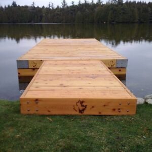 Western Red Cedar Docks Kitchener / Waterloo Kitchener Area image 2