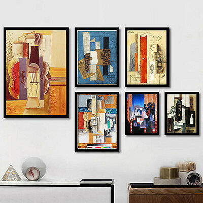 Picasso Abstract Painting Nordic Art Canvas Poster Modern Home Decor