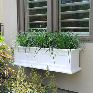New Mayne Fairfield 3 foot Window Box Planter