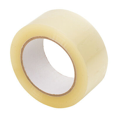 12 Rolls Clear Packing Packaging Carton Sealing Tape 2.0 Mil Thick 2x110 Yards
