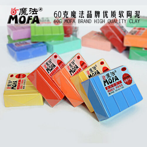 Купить 41 COLORS FIMO EFFECT 60g POLYMER MODELLING - MOULDING OVEN BAKE CLAY PASTEL &