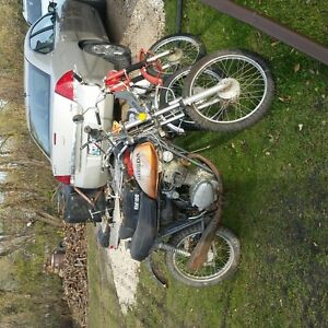 HONDA FOR PARTS OR RESTORE