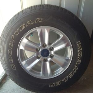 2016 FORD F-150 ALLOY WHEELS with TIRES