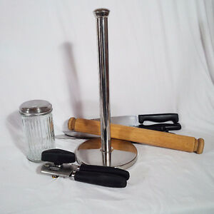 Kitchen Items: Paper Towel Holder, Knives, Sugar Dispenser Kitchener / Waterloo Kitchener Area image 2