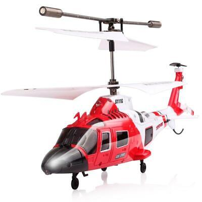 Syma S111G 3.5CH Infrared Control Indoor Mini RTF Agusta RC Helicopter with Gyro ()