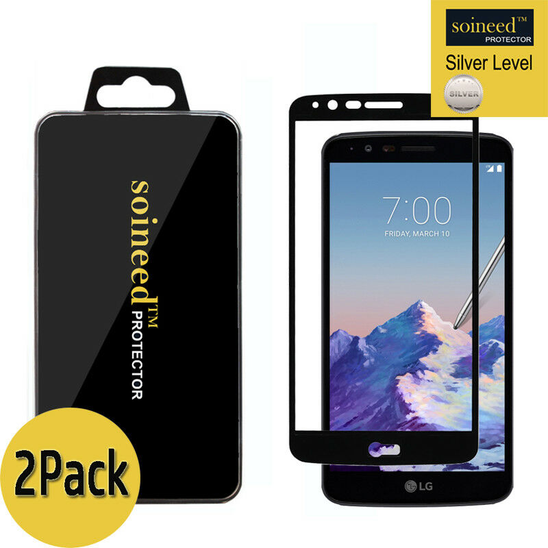 For LG Stylo 3 Plus/Stylo 3 Full Screen Coverage Tempered Glass Screen Protector