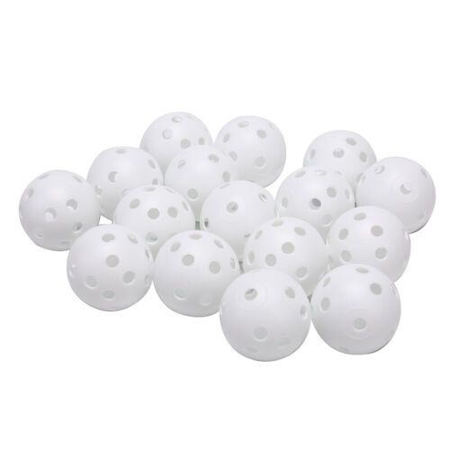 1 Pc Airflow Hollow Perforated Plastic Golf Balls Practice T