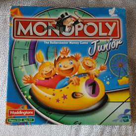 Monopoly Junior Rollercoaster