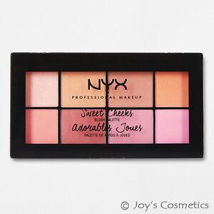 1-Nyx-dulces-cachetes-Paleta-de-Blush-8-Colores-034-scbp-01-034-Cosmeticos-Joy-039-s