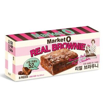 Market O Real Brownie Korean Cookies 192g (24g x 8 cookie)