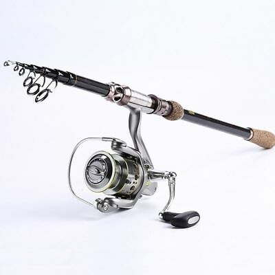 Portable Fishing Rod Bait Casting Telescopic Carbon Sea Tackle Device Instrument