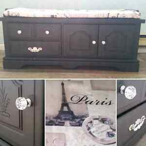 Beautiful Paris Themed Chest