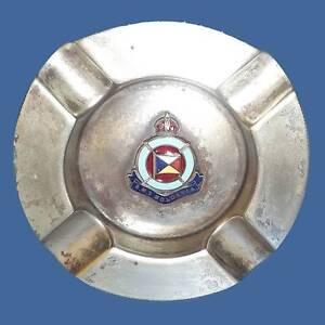 Silver-plated ashtray, R.M.S. Moldavia, sunk 1918, German sub Katoomba Blue Mountains Preview