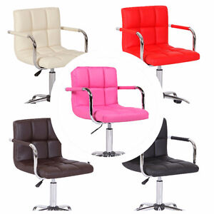 *59.99* NEW Bar Stool Chair Seat Adjustable Wheels Home Office