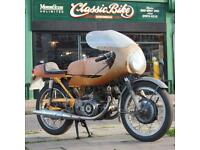 1965 Honda CB77 305 Classic Vintage Rare Road Cafe Racer Built In Early 70's