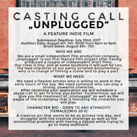 CASTING CALL  |  ACTRESS FOR SCENE IN INDIE FEATURE
