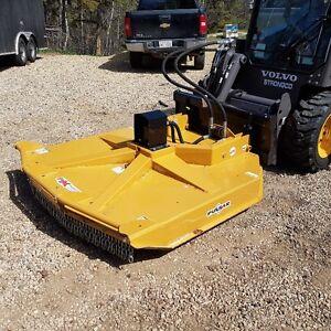 Rough Cut mower Skid Steer Attachment